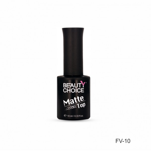 Frosted top coat FV-10, 10 ml