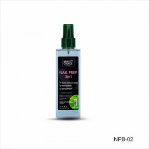 Nail Prep 3 in 1 (grease, stickiness, dehydration) NPB-02, 250 ml