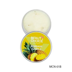Massage candle for manicure (pineapple) MCN-01B, 40 ml